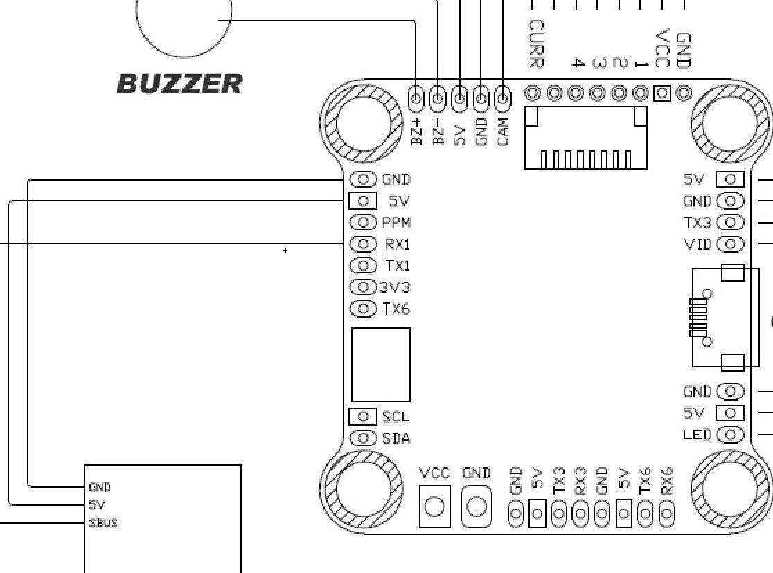 Diatone Mamba F405+40A Dshot600 Power Tower Stack Combo