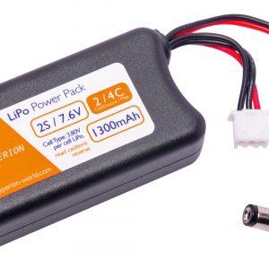 Hyperion G6 2s 7.6V 1300mAh HV Lipo Battery for FatShark/Head-play/FPV Goggle