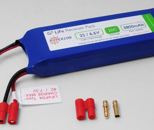 Hyperion Receiver Pack - LiFe 6.6V 3800mAh (20C)