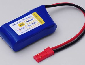 Hyperion G3 CX - 2S 7.4V 180mAh (25C/45C) 6C Charge LiPo