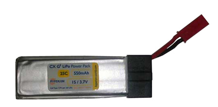 Hyperion G3 CX - 1S 550mAh for Blade mQX/120SR Heli (25C)