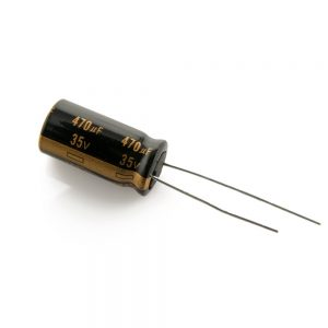 Panasonic 35V 470uF LOW ESR Capacitor