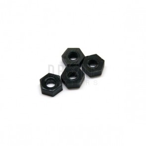 M3 Nylon Hex Nuts(4)