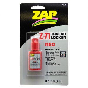 ZAP PT-71 .20 oz. Red Thread-Locker