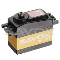 Savox SC-1258TG Standard Size 'High Torque' Coreless Digital Servo .08/12Kg