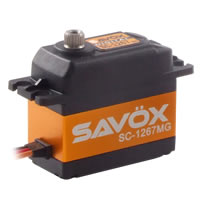 Savox SC-1267SG Standard Size 'High Voltage' LiPo Compatible Digital Servo .095/20Kg