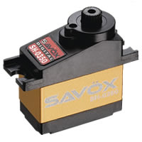 Savox SH-0350 Micro Size Digital Coreless Servo .16/2.6Kg