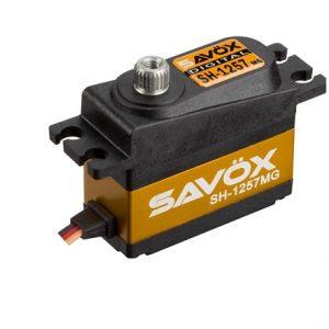 Savox SH-1257MG Super Speed Metal Gear Mini Digital Servo .07/2.5Kg