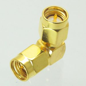 SMA Male to SMA Male Adapter 90º