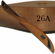 Vess 26A Wood Propeller