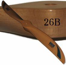 Vess 26B Wood Propeller