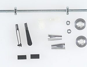 Dubro Heavy Duty Dual Control Horn System .40-.91