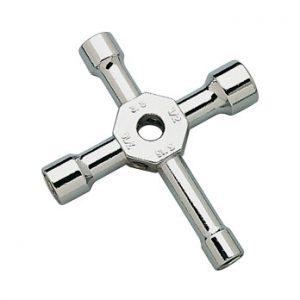 Hobbico 4-Way Wrench w/Plug Storage